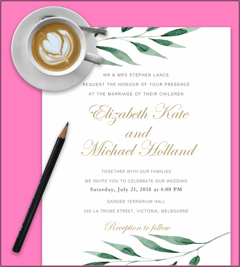 Free Download Invitation Templates For Word