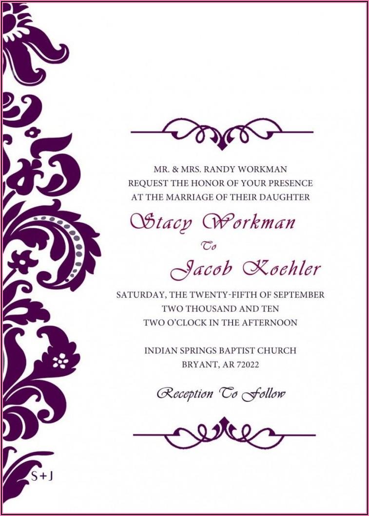 Free Invitation Templates Online