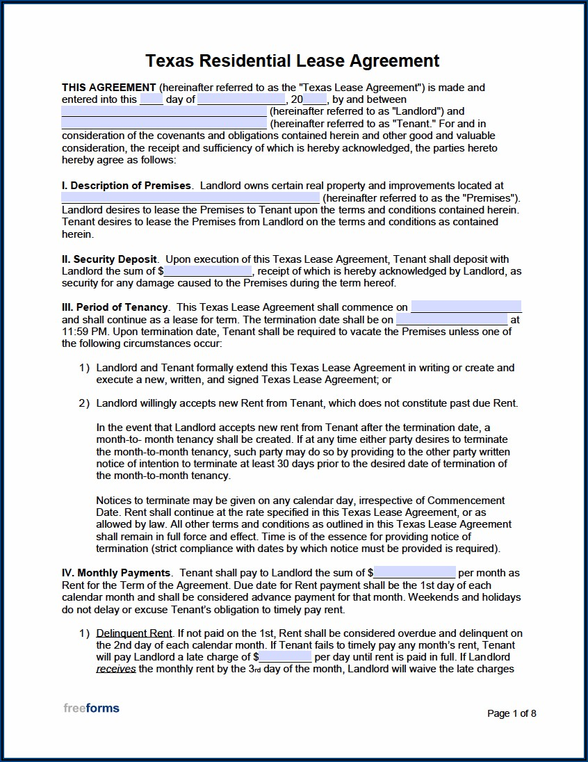 Free Maryland Rental Lease Agreement Form