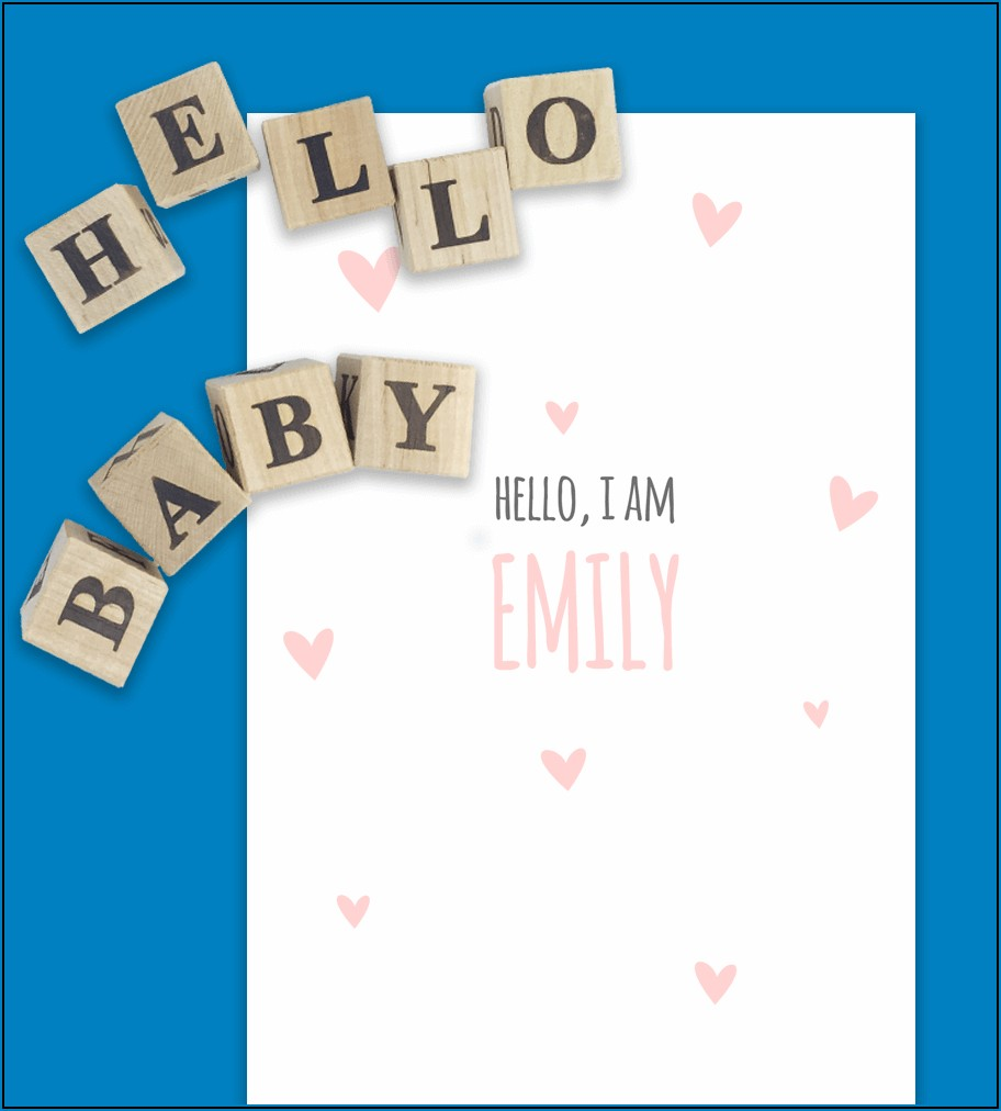 Free Pregnancy Announcement Templates For Word
