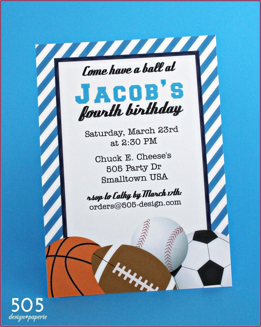 Free Printable Birthday Invitation Templates Boy