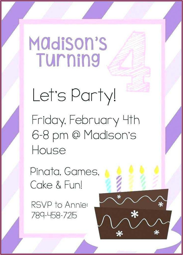 Free Printable Birthday Invitation Templates Uk
