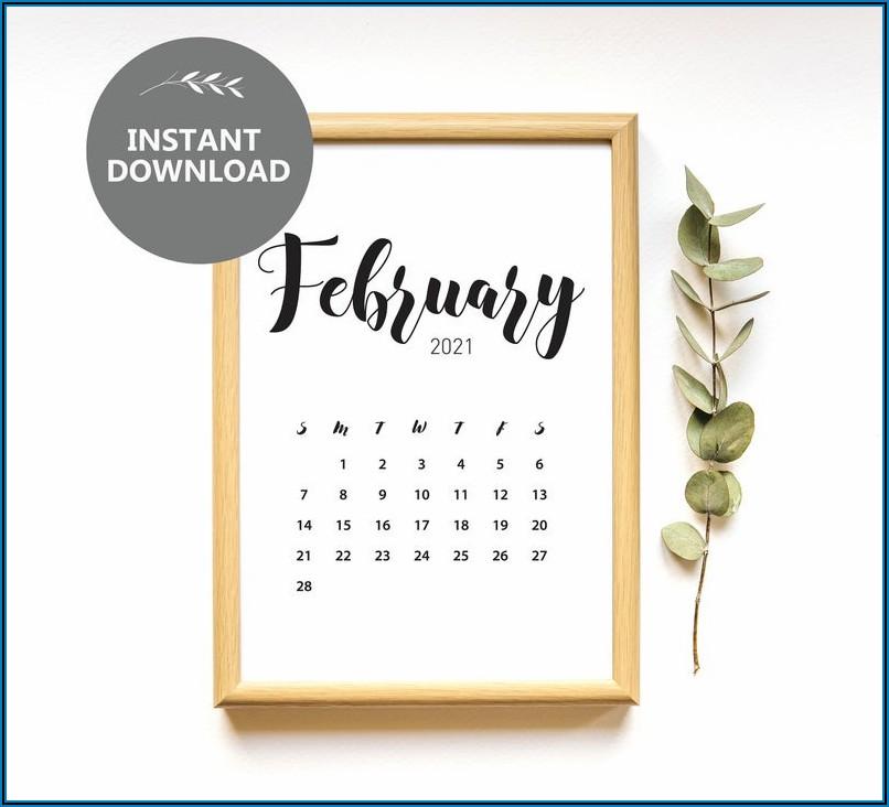 Free Printable Pregnancy Announcement Calendar 2021