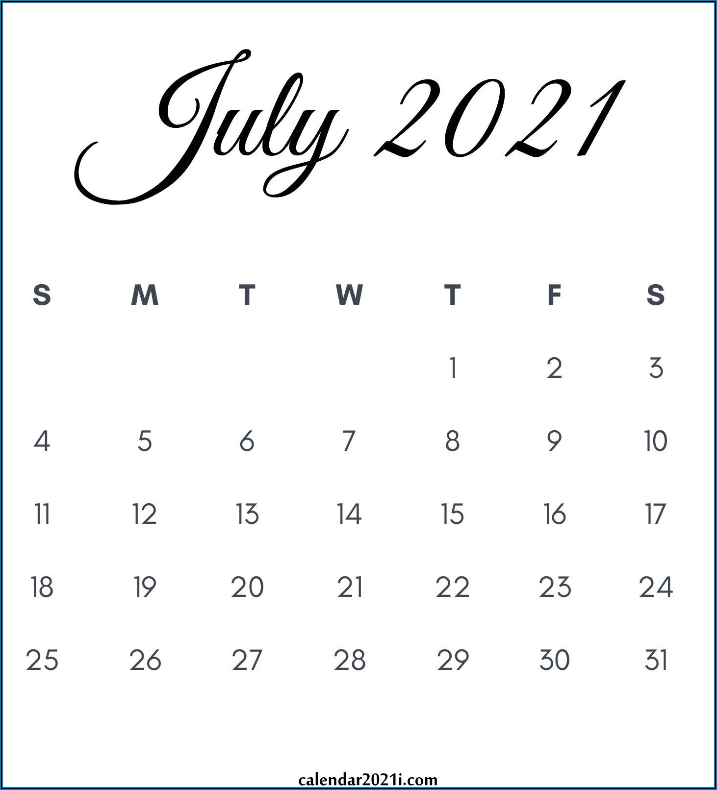Free Printable Pregnancy Announcement Calendar August 2021