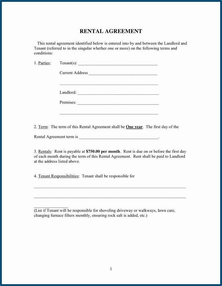 Free Room Tenancy Agreement Template Word Uk