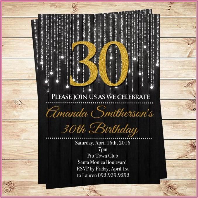 Free Surprise Birthday Invitations For Him