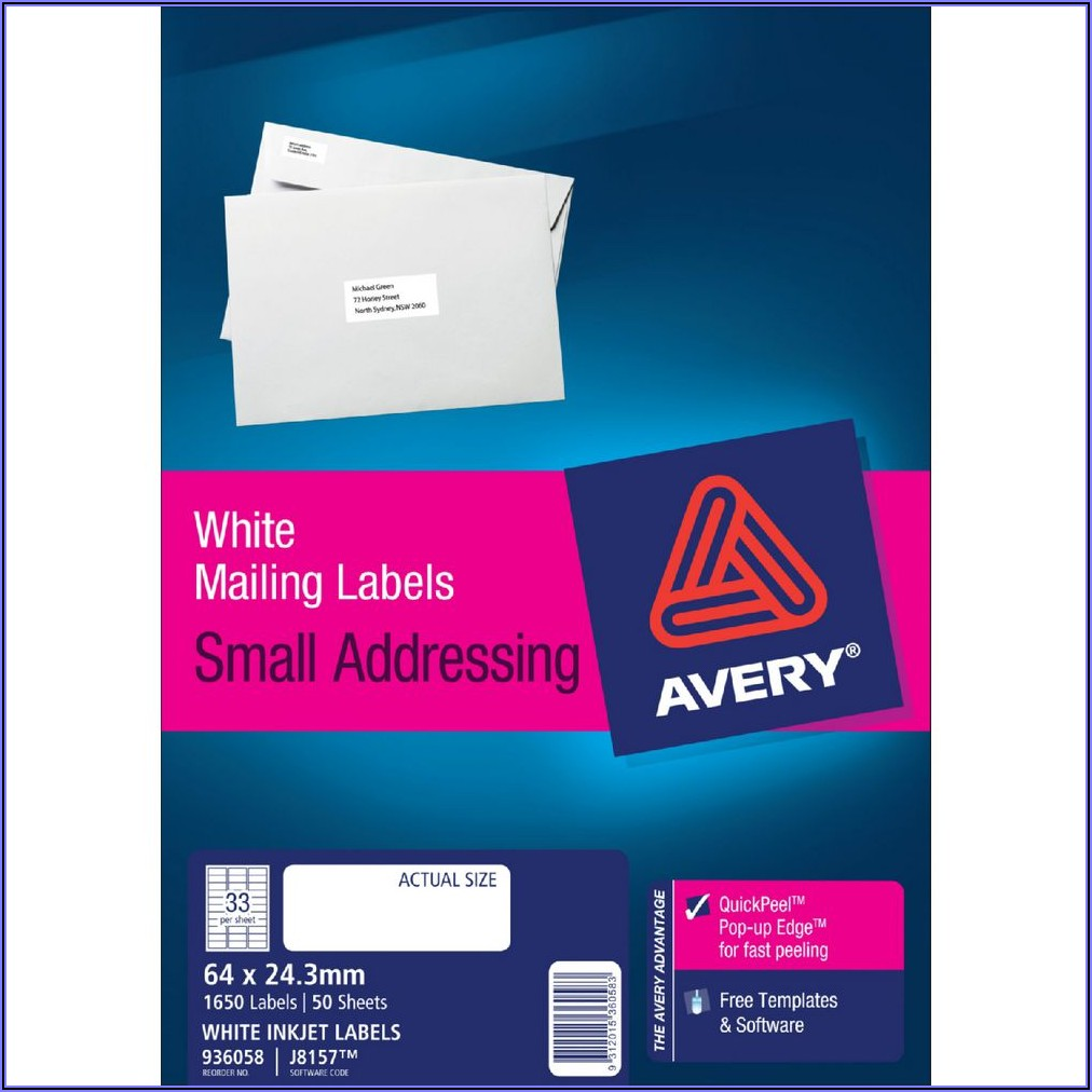 Free Template For Address Labels 18 Per Sheet