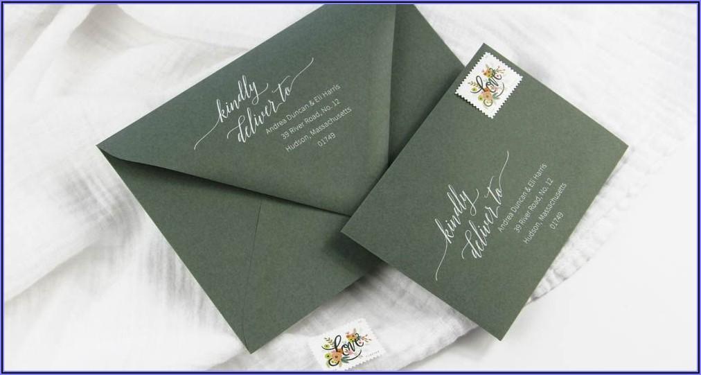 Free Template For Addressing Envelopes