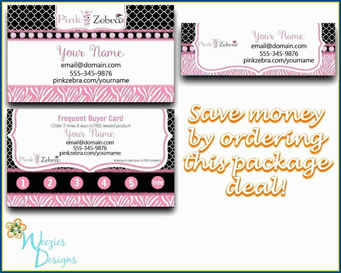Frequent Buyer Card Template