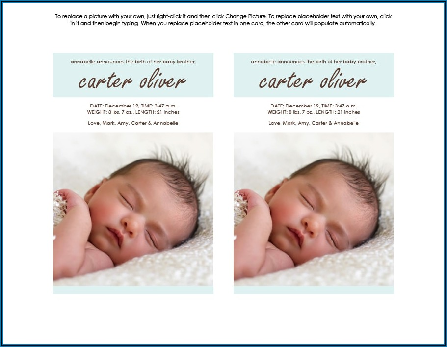 Funny Baby Birth Announcement Wording