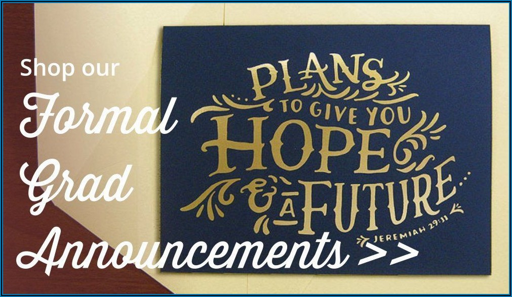 Graduation Announcement Etiquette High School