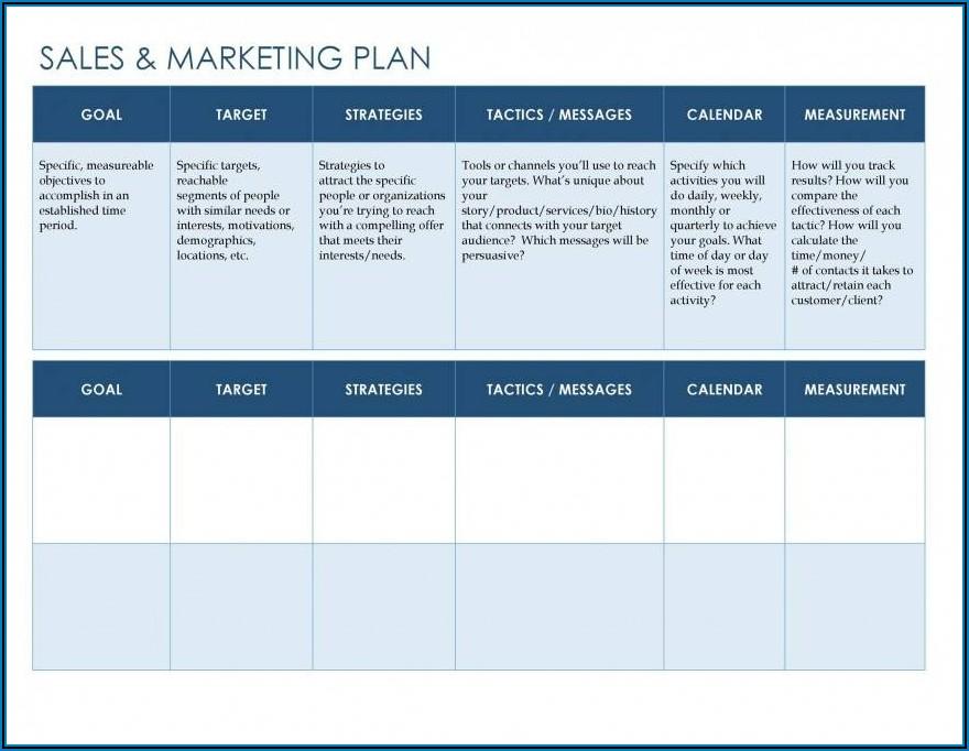 Hotel Marketing Plan Template Word