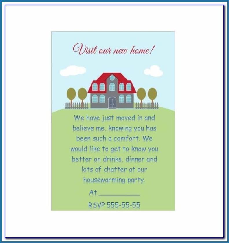 Housewarming Invitation Templates India