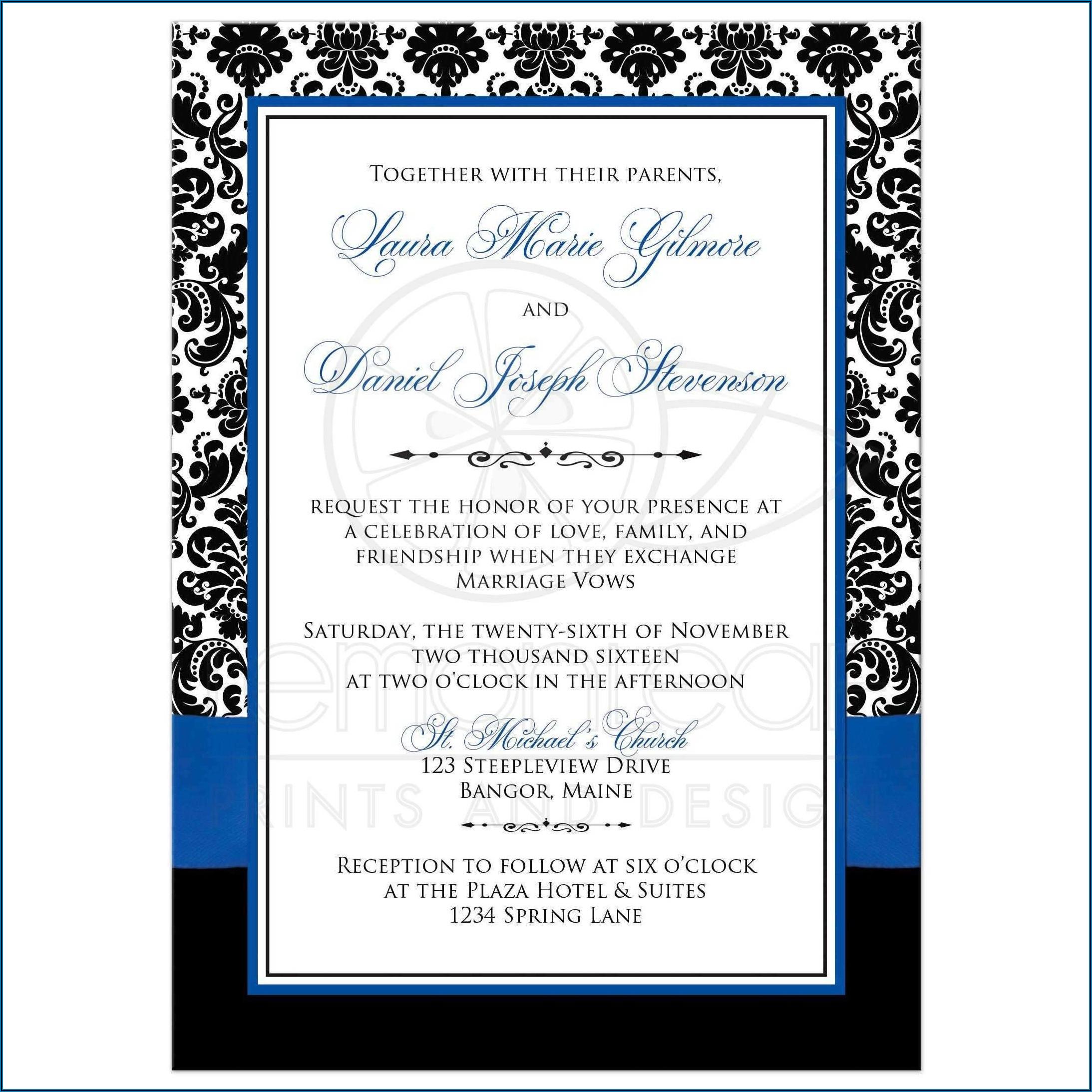 Invitation Cards Templates Online