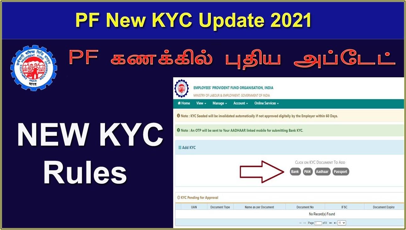Kyc Online Form Sbi