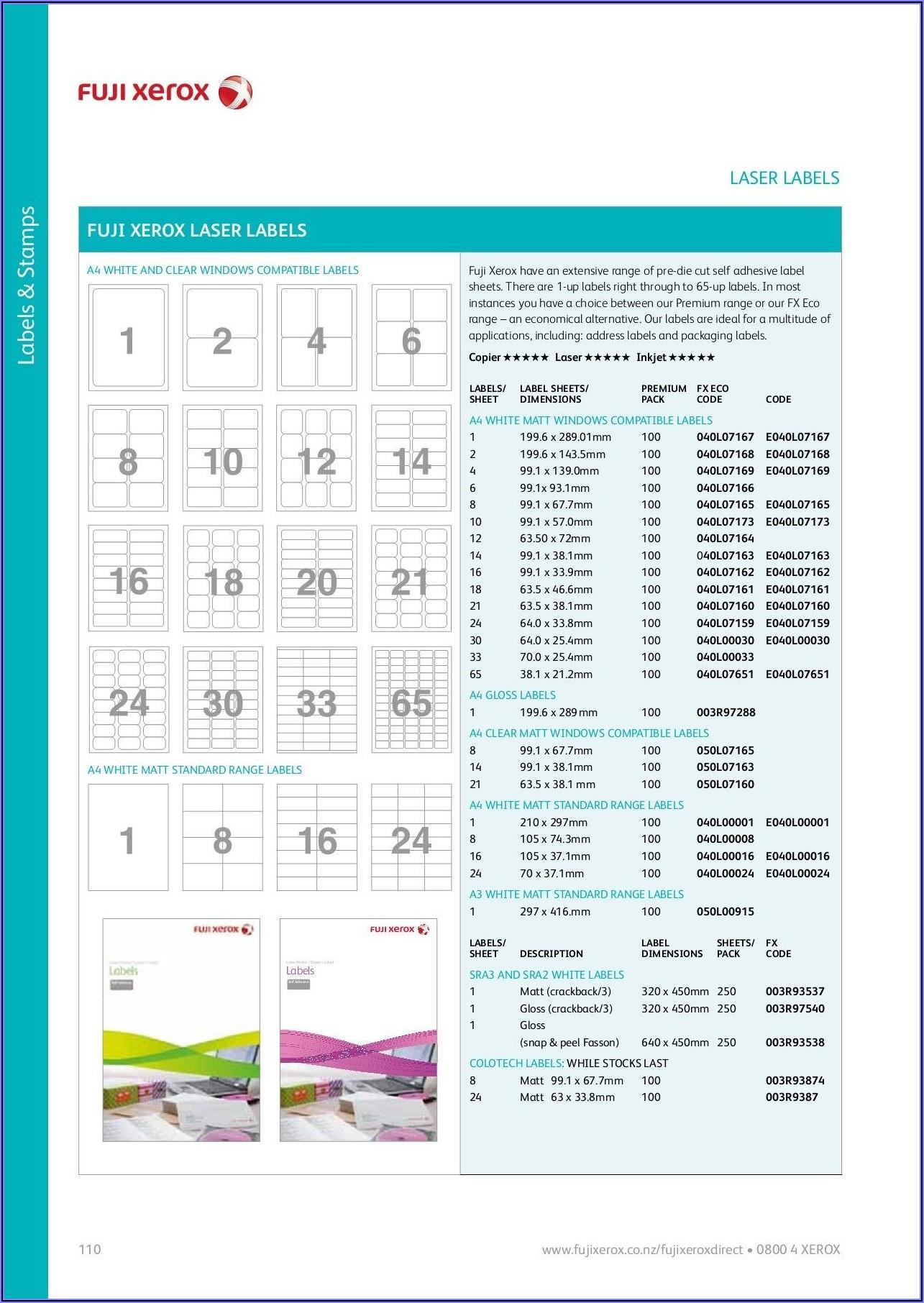 Laser Labels Template 18 Per Sheet