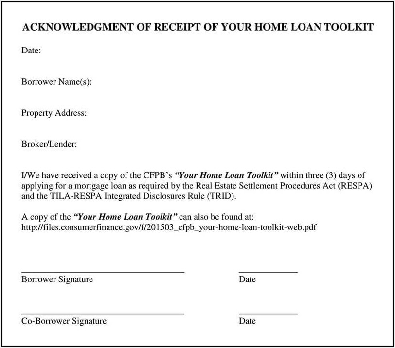 Loan Payoff Request Form Template