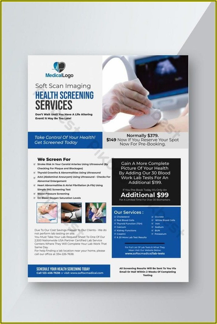 Medical Flyer Templates Free Download
