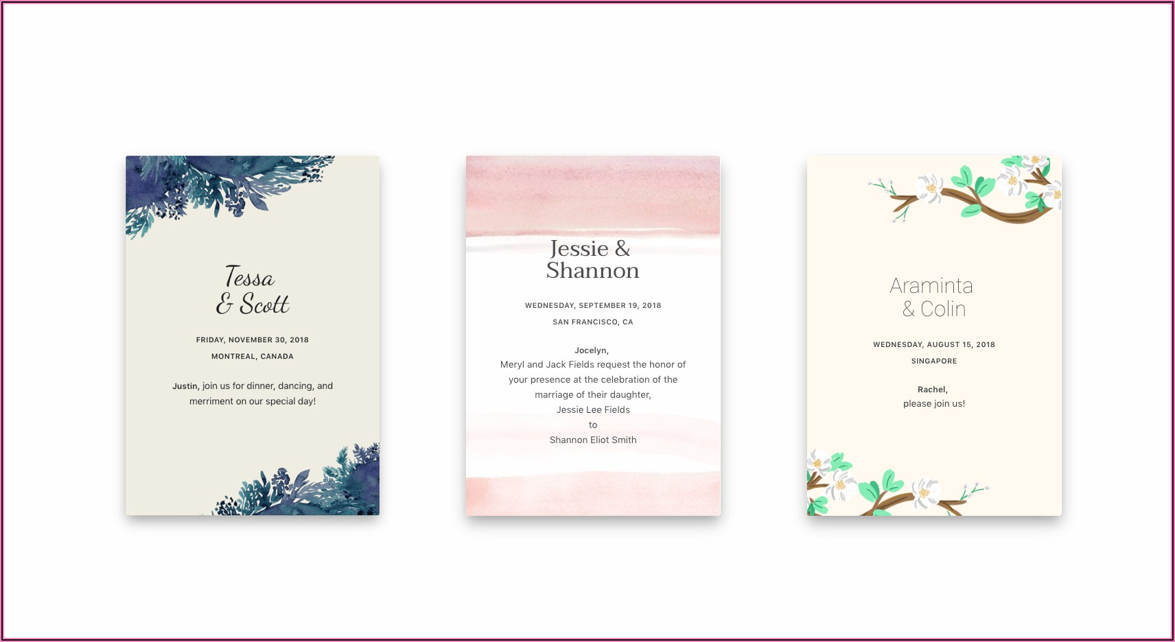 Michaels Wedding Invitation Kits Canada