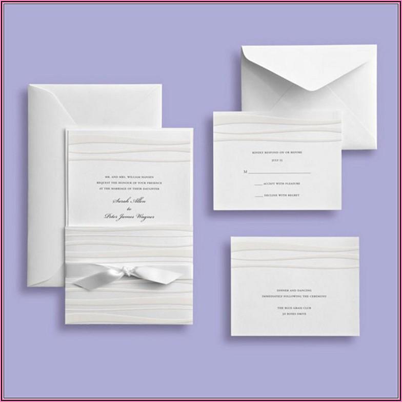 Michaels Wedding Invitation Kits