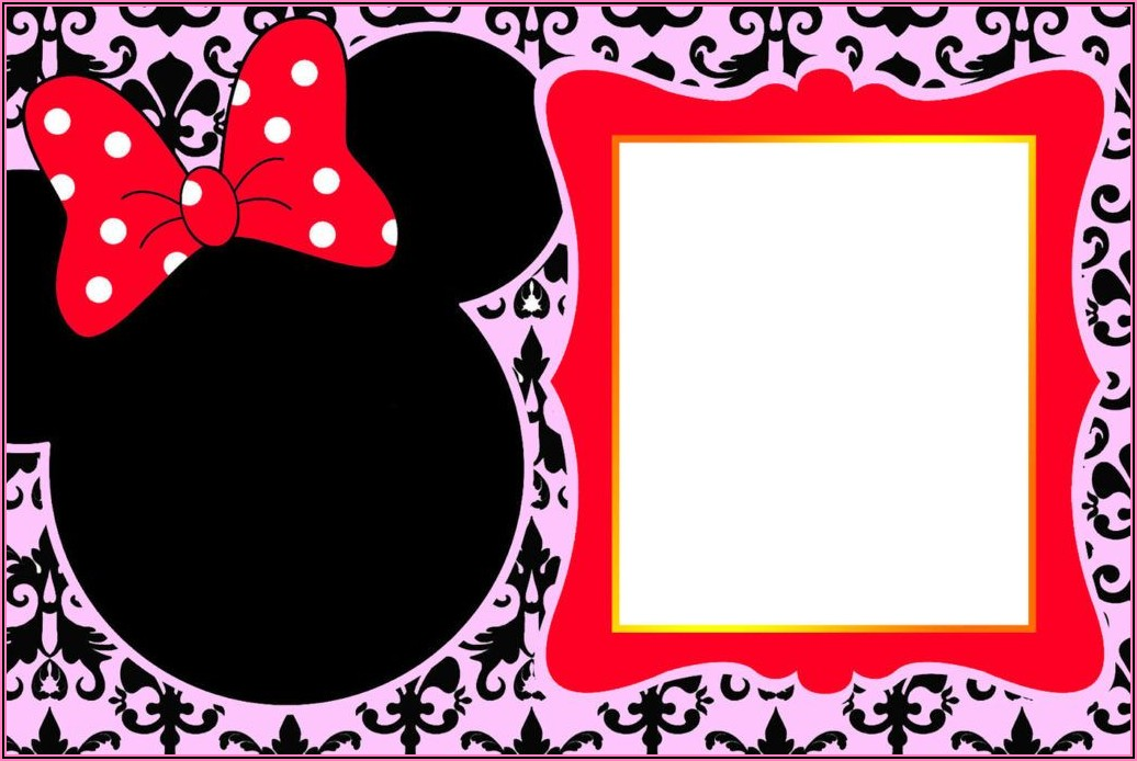 Minnie Mouse Birthday Invitations Online Free