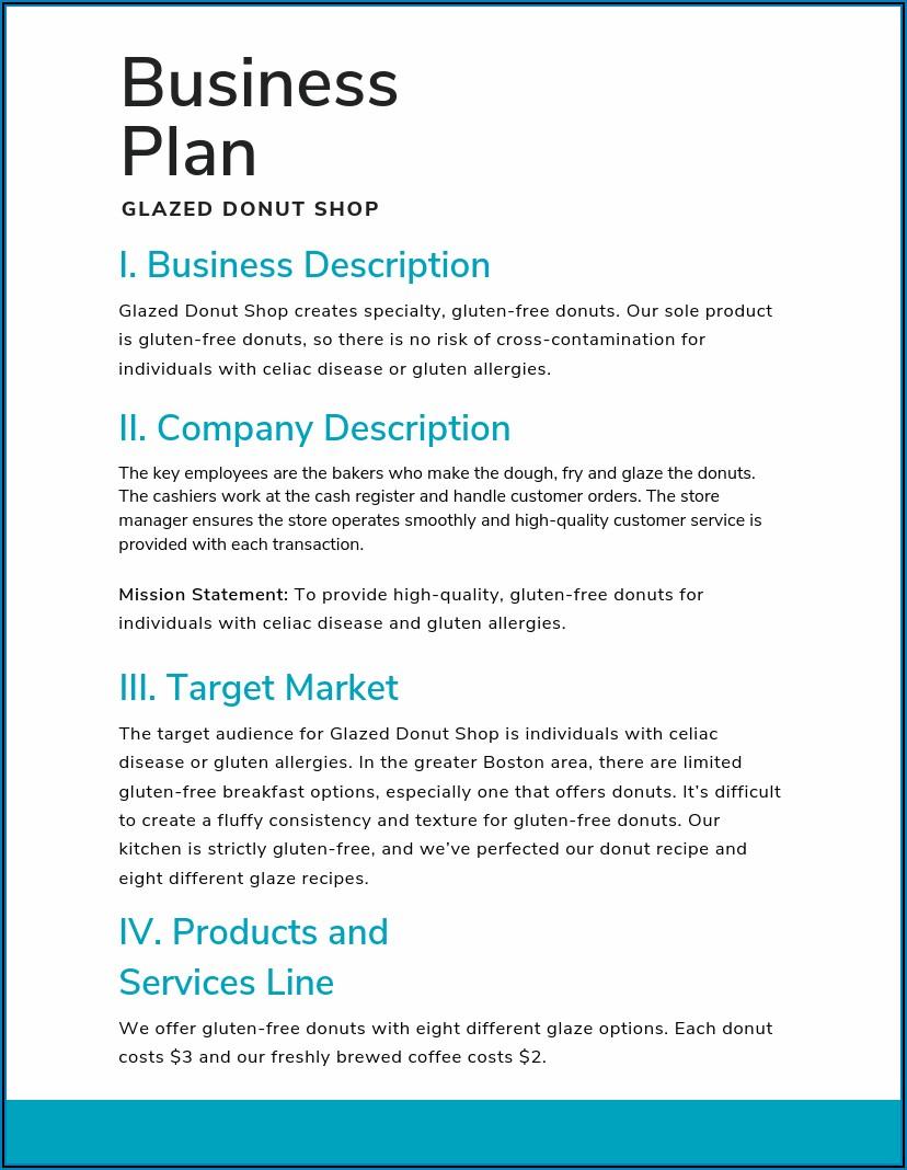 Mortgage Broker Business Plan Template Uk