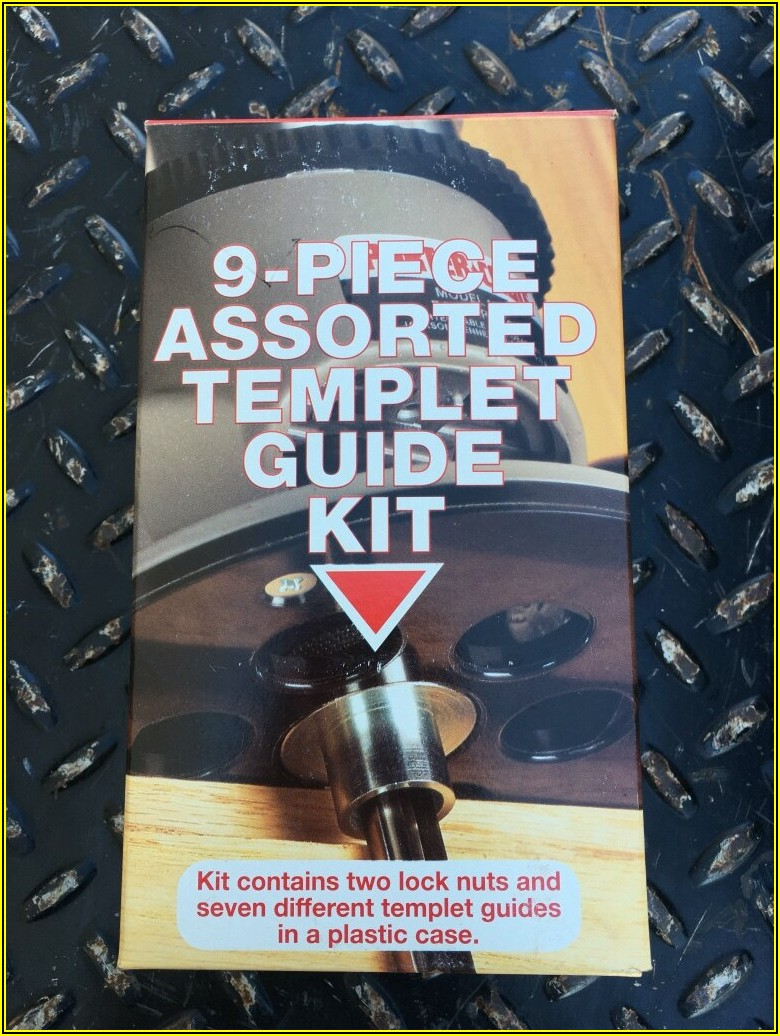 Porter Cable Router Template Guide Kit 42000