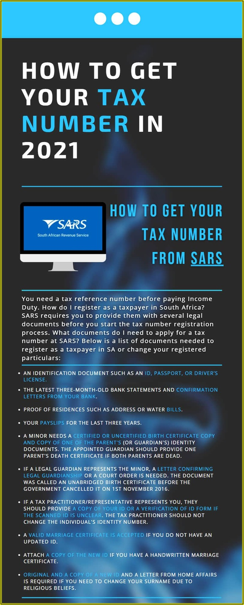 Power Of Attorney Form South Africa Sars