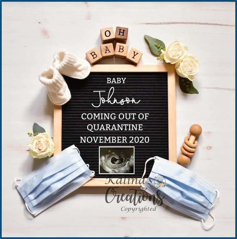 Pregnancy Announcement Template For Facebook