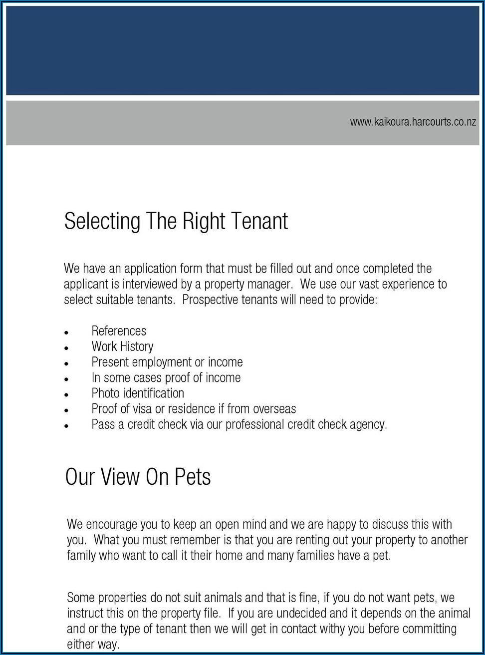 Property Management Agreement Template Nz