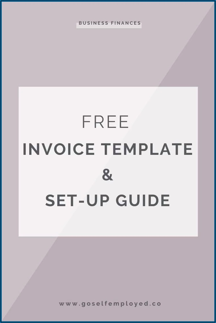 Self Employed Invoice Template Uk Free