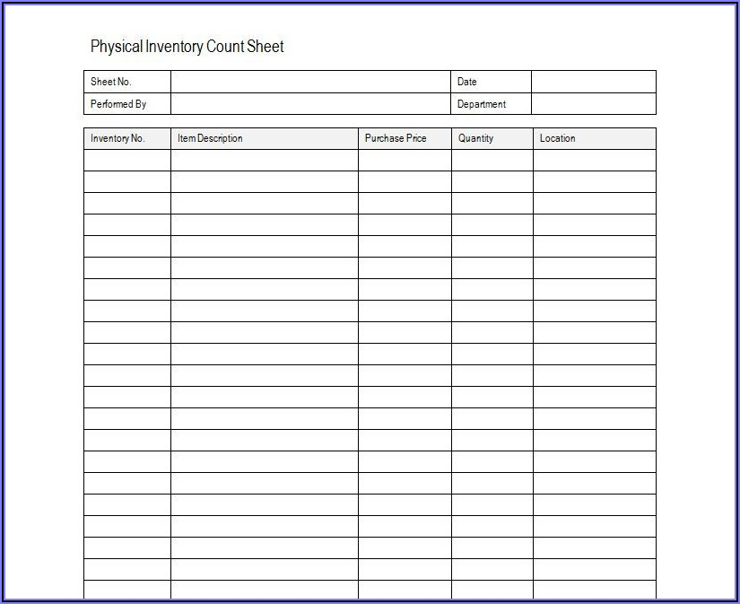 Stock Management Template Excel Free