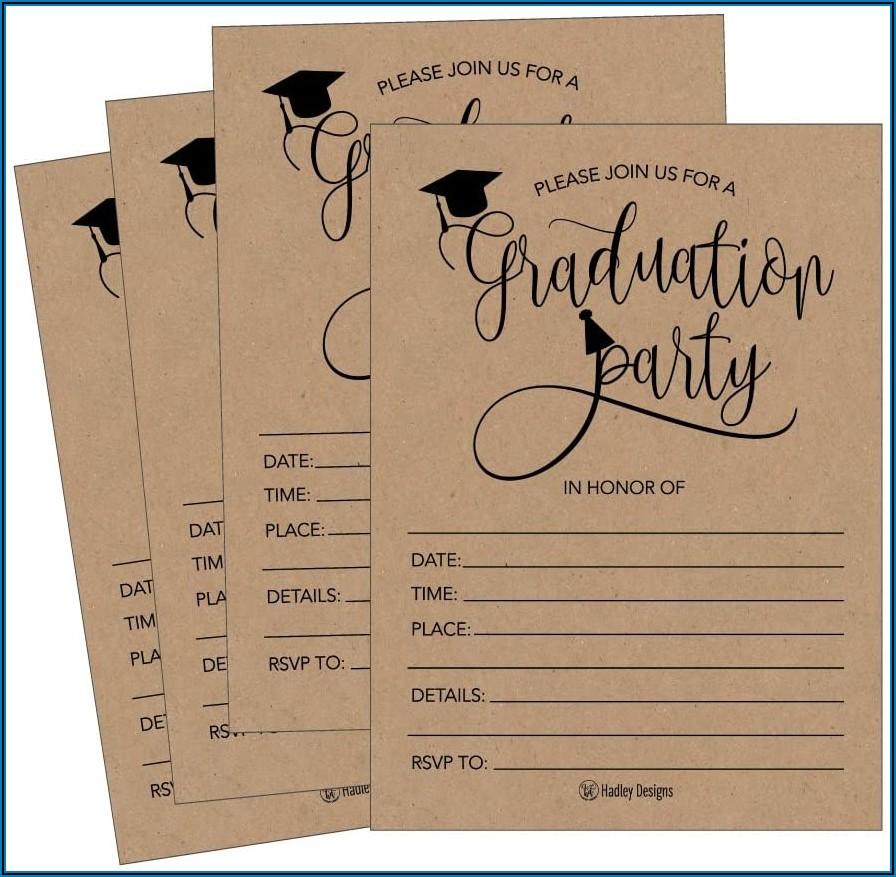 Tri Fold Graduation Announcements 2019