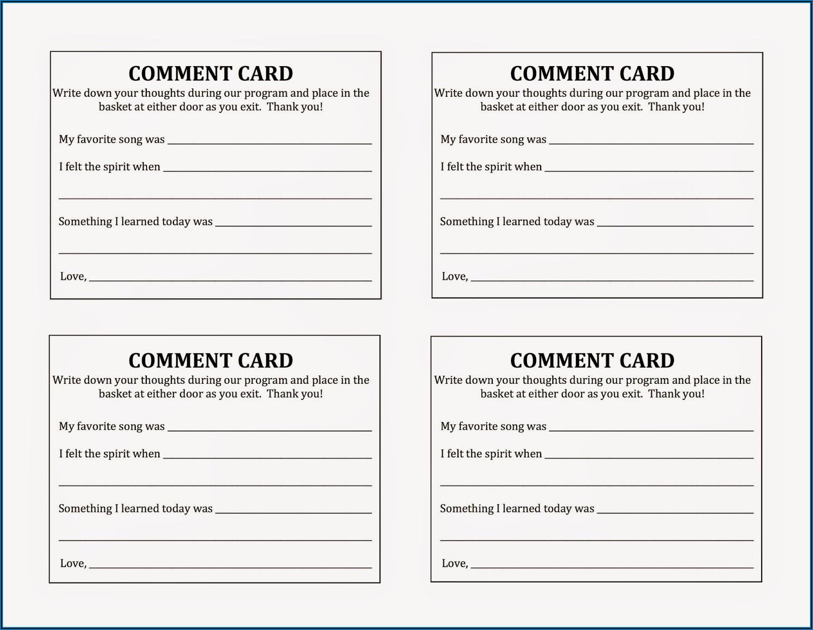 Tri Fold Sacrament Meeting Program Template