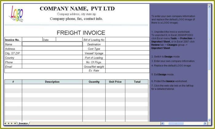 Trucking Company Profile Template