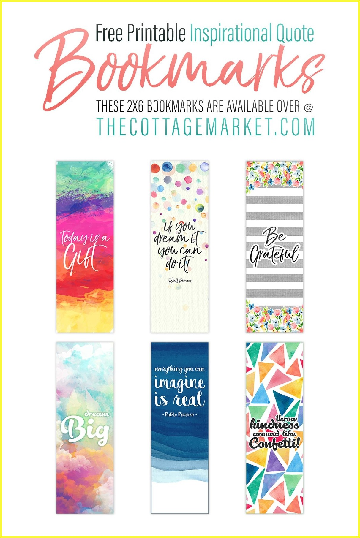 Two Sided Bookmark Template Free