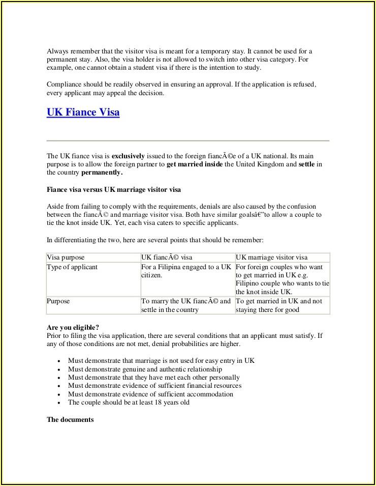 Uk Spouse Visa Form Download