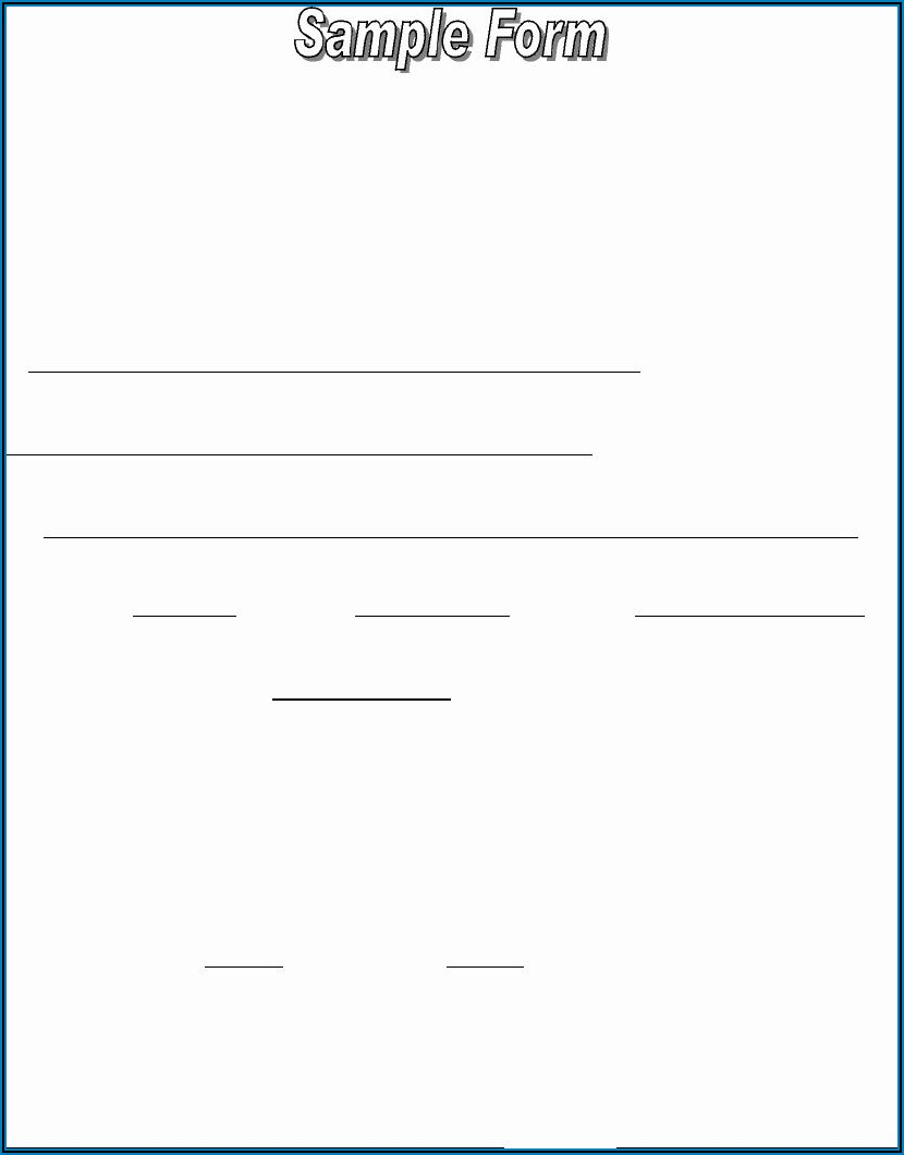 Voluntary Payroll Deduction Form Template