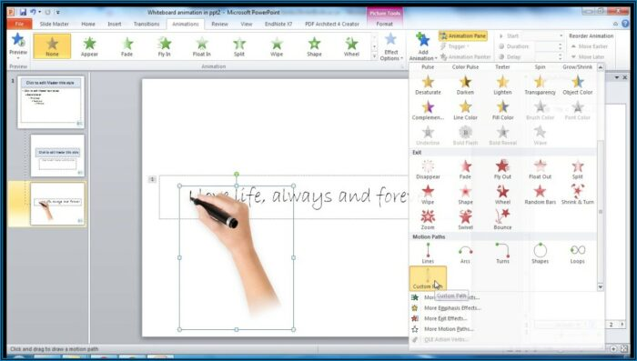 Whiteboard Animation Powerpoint Template