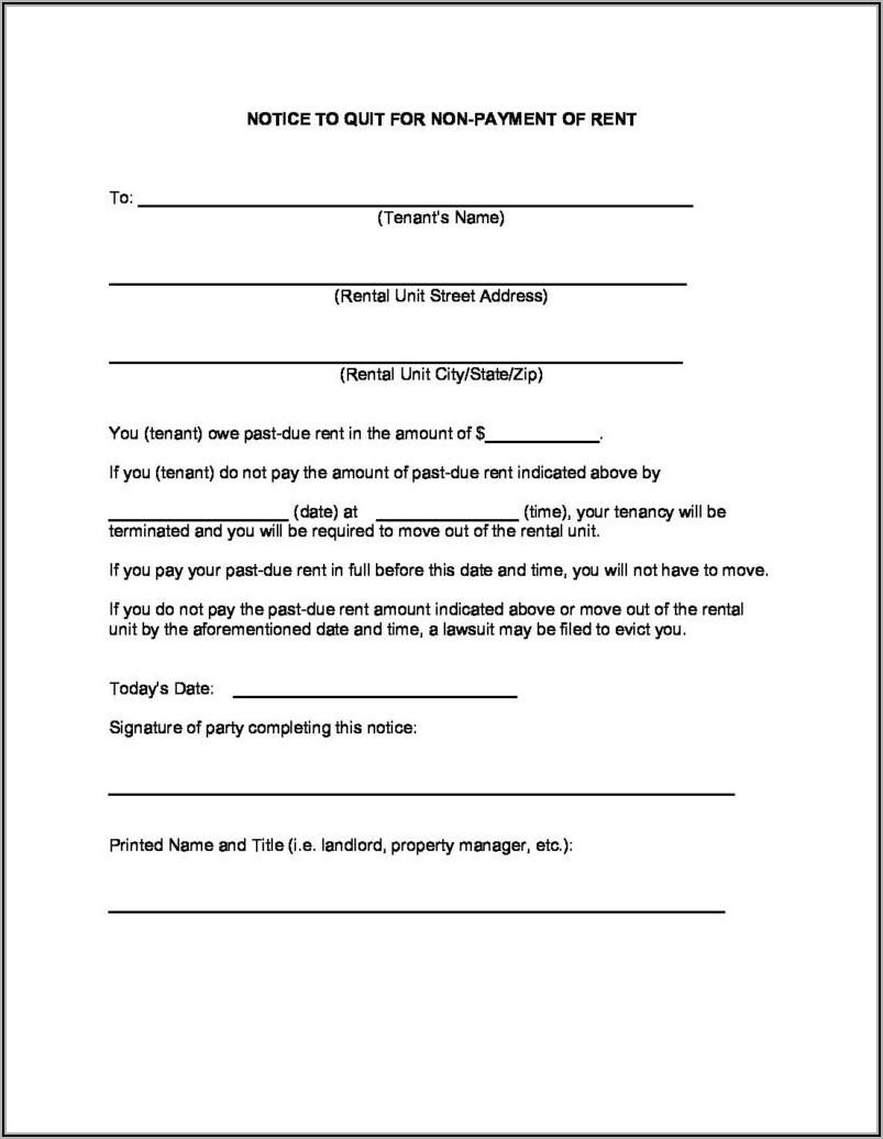 Alabama Eviction Notice Form Free