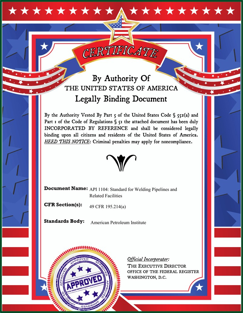 Api 1104 Welding Procedure Specification Form