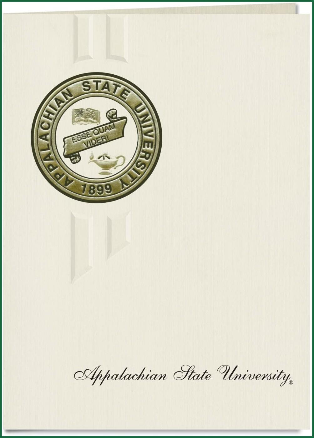 Appalachian State Graduation Announcements