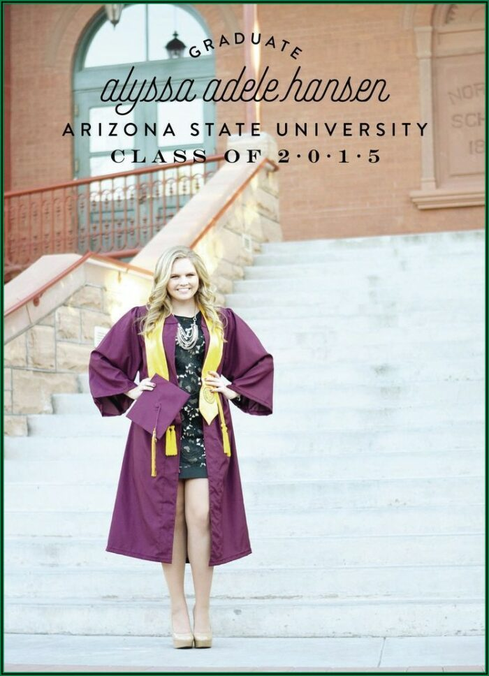 Arizona State Graduation Announcements