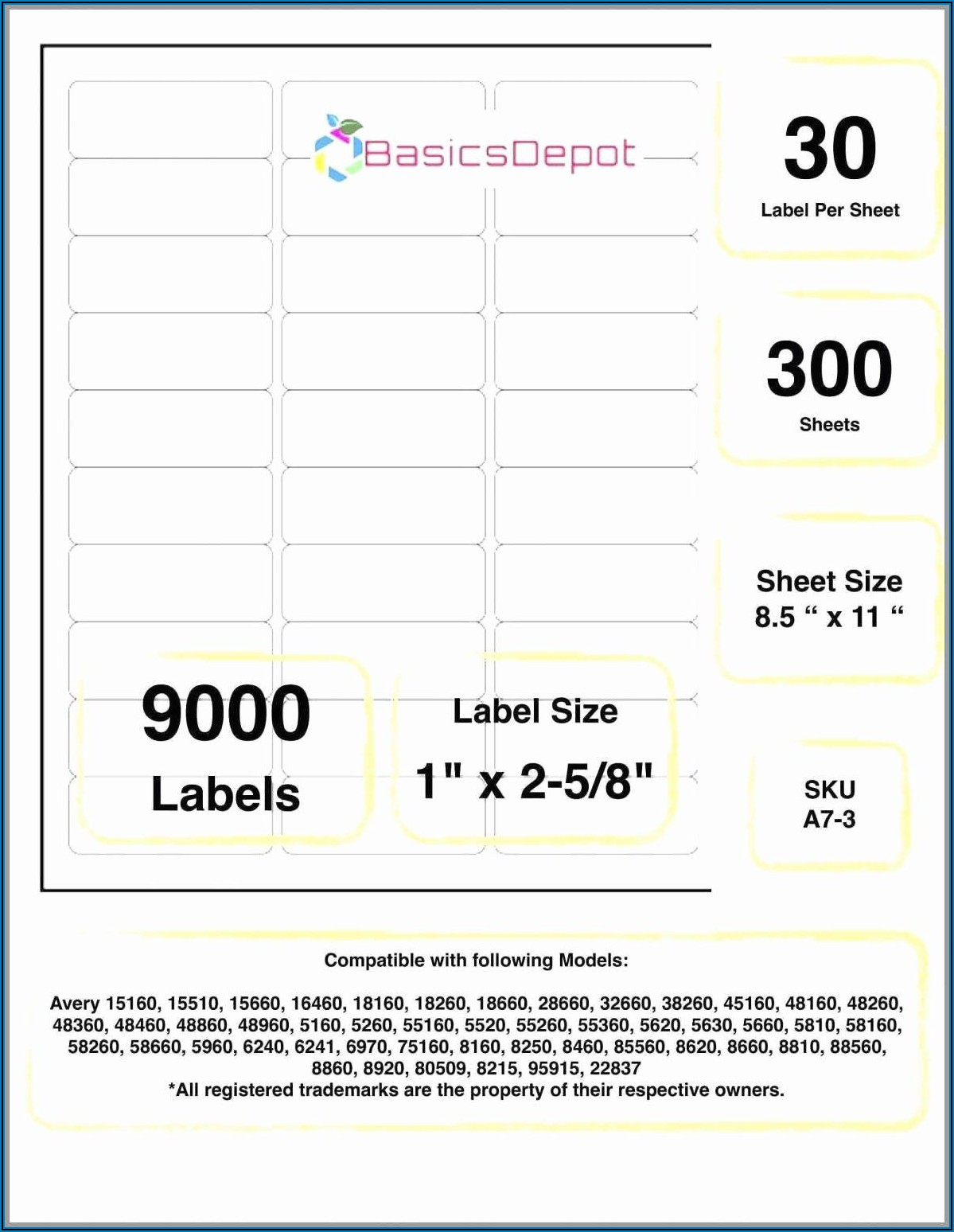 Avery Mailing Label Template 5660