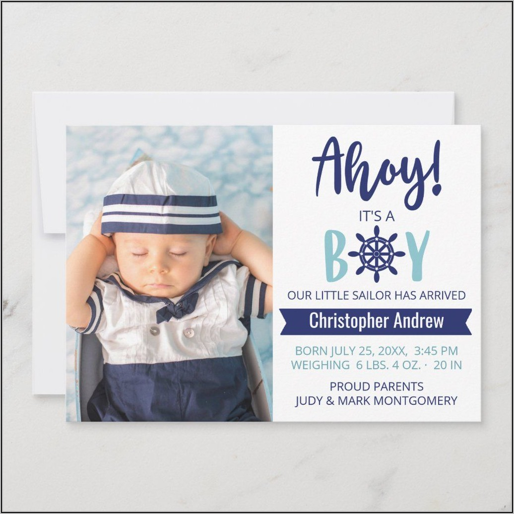 Baby Boy Birth Announcement Quotes