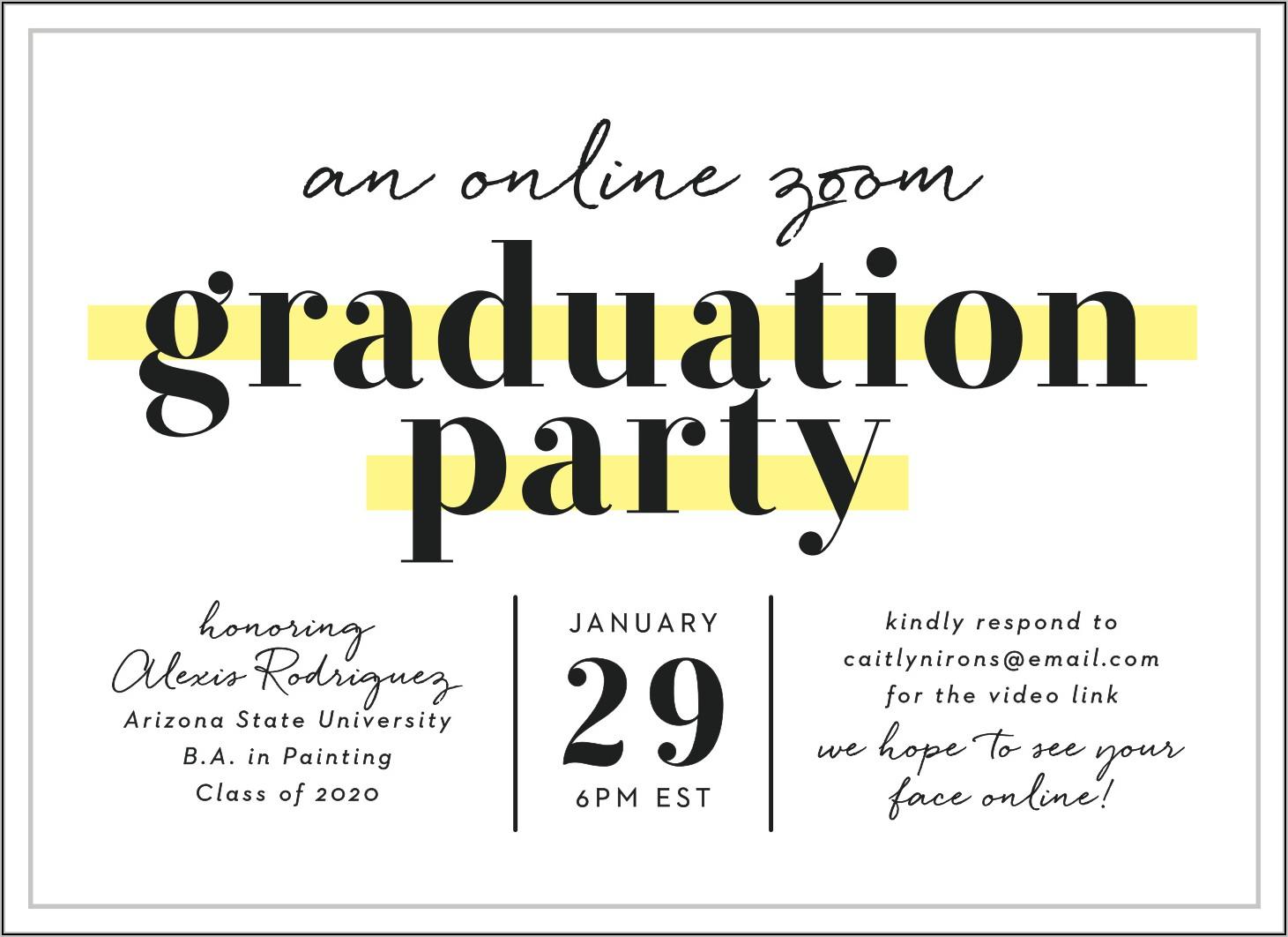 Best Font For Graduation Announcements