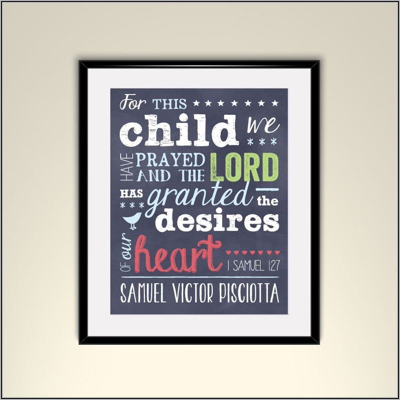 Bible Verse For Adoption Announcement