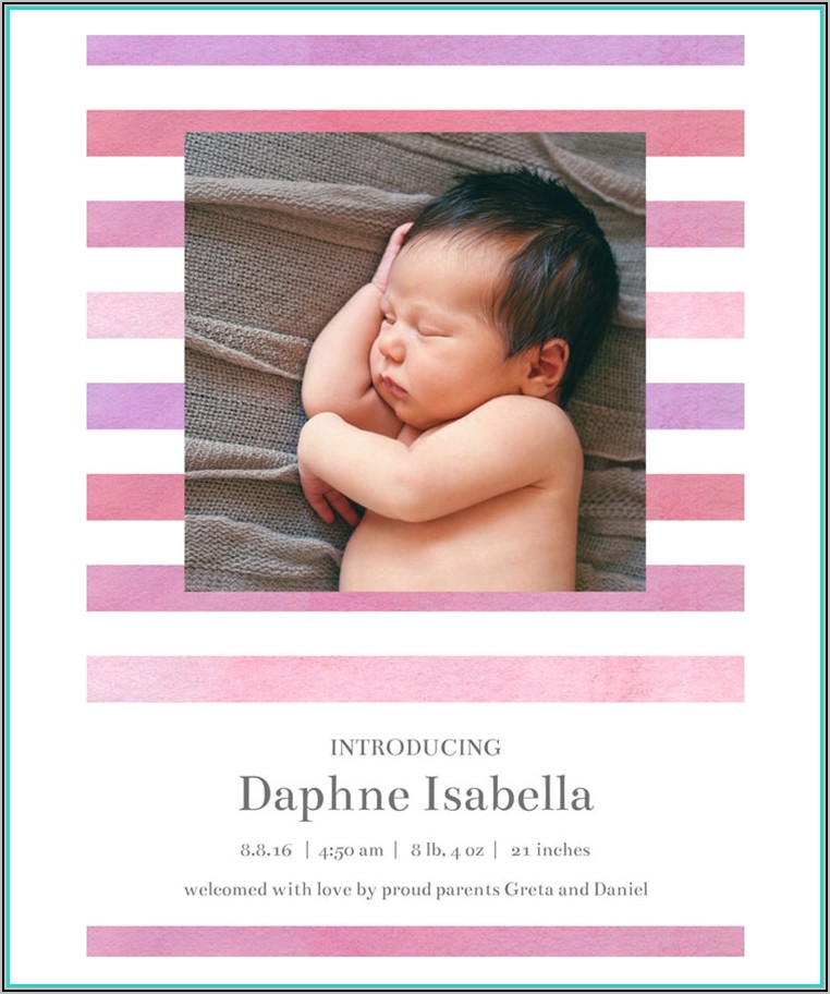 Birth Announcement Wording Single Mother