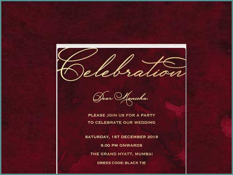 Birthday Invitation Card In Hindi Online