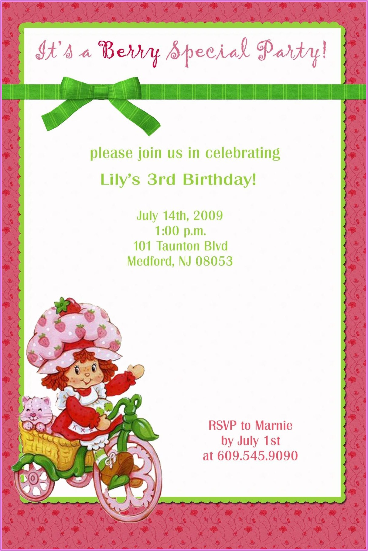 Birthday Invitations With Pictures